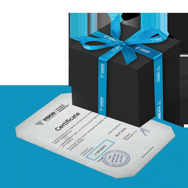 Pentactive Neo - pakovanje sa sertifikatom